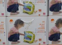 جهاز تابلت تعليمي للأطفال وقران مع مايكروفون نظام اندرويد - مفيد وممتع وينفع هدية فخمه