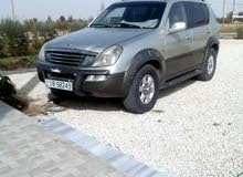 Automatic Beige SsangYong 2004 for sale