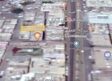قطعة ارض في تعز حي الضربه تبعد 30 متر عن شارع جمال