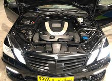 Black Mercedes Benz E550 2010 for sale