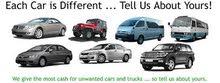 WE BUY USEDACCIDENT CARS SCRAP