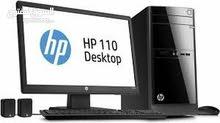 مطلوب جهاز مكتبي كامل كيس وشاشة وموصفته متوسطة او عالية