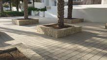 حجر عماني طبيعي للارضيات والجدران والديكور