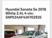 هيونداي سوناتا 2018 للبيع