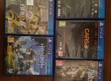للبيع دسكات PS4