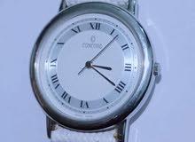 ساعة Concord سويسرية أصلية باللون الأبيض