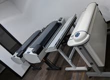 3 Machines - 2 HP plotter A0 1 A0 Scanner