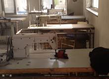 مشغل خياطة بكامل معداته مرخص جاهز بسبب السفر