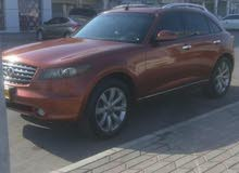 Available for sale! 0 km mileage Infiniti FX37 2006