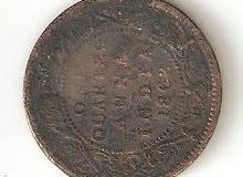 عملة هنديه تعود لسنة 1862م