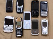 للبيع هواتف نوكيا اصليه قديمه سعرهم 1300 درهم مخزنه لتواصل للجادين فقط 0503036010