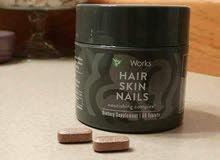 فيتامينات الشعر الامريكية لمعالجة التساقط و الصلع