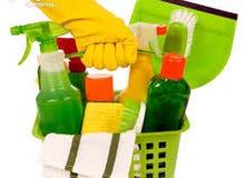 تنظيف مكاتب و شقق تشطيب في الزرقاء و عمان