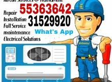 All Air condition selling And Installation cleaning gass water leaking repaing services