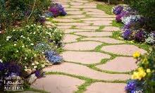 تنسيق حدائق واعمال ديكور