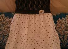 فستان رائع لوليدات الصغار جديد مناسب لهيم ب150درهم فقط