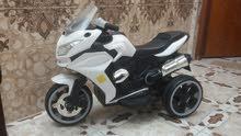 سياره ودراجة 125