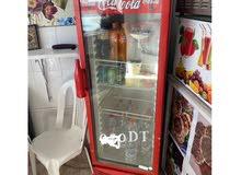 ثلاجة كوكاكولا للبيع
