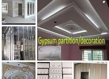 painting gypsum Partition decorations