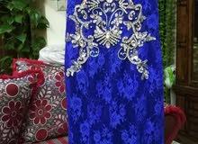 فستان سهره ازرق للسهره