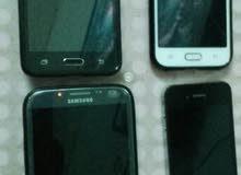 اربع هواتف للبدل مع ايفون 6 او 6 بلس  64 جيبي او اكثر