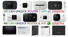 We Are unlocking the Router & Pocket WiFi. 3G Or 4G. Plus