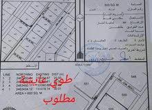 ارض قريب مسجد وشارع خدمات في قلب طوي عاشة ب 4300