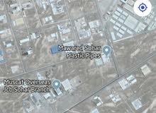 ارض صناعة للاستثمار او الايجار في صحار فلج العوهي القديمة