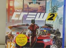 لعبه ذكرو2  the crew2 عربيه نضيفه للبيع