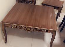 طاولات مباشره طاولات ضيافه خشب زان اصلي 100%