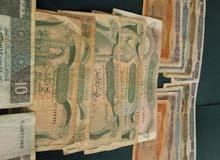 لبيع مجموعة من عملات ليبيا قديمة مجموعة 62وراقة