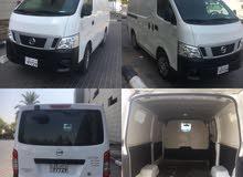 White Nissan Van 2015 for sale