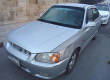 سيارة للبيع نوع هونداي فيرنا  موديل 2001 اوتوماتيك