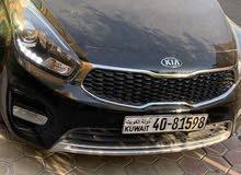 Black Kia Carens 2017 for sale