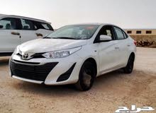 Toyota Yaris 2019 For sale - White color