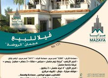 Villa in Al Rawda - Ajman and consists of More Rooms and More than 4 Bathrooms