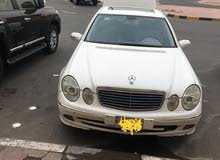 مرسيس 2003   E240  دفتر سنه.   عداد 254 الف حاله ممتازه