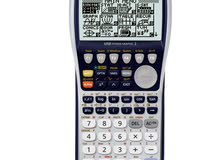 الآلة حاسبة بيانية مستعملة مره واحدة معها كل شي