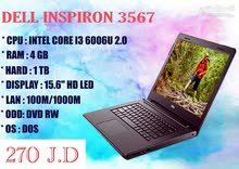 New Laptop for sale of brand Dell