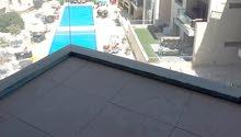 عبدون شقة مفروش مع مسبح مميز للإيجار السنوي
