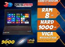 laptop lenovo core i7 ram 8 hdd 1000 viga nvidia لالعاب 2018 وبرامج الجرافيك