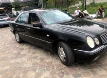 Black Mercedes Benz E 400 1997 for sale