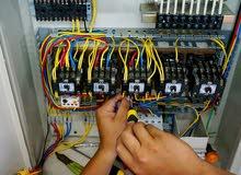 يوجد معلم  مصري كهربائي منازل تأسيس وتشطيب عماير وشقق