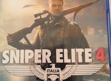 شريط sniper elite 4 للبيع