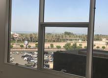 للايجار مكتب فى السالمية  office for rent in salmiya sea view