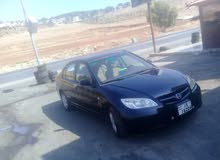 Used condition Honda Civic 2004 with 0 km mileage