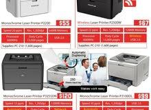 New Laser Printers at 2600L.L Rate