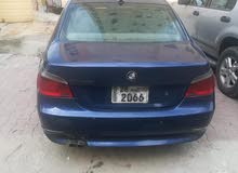 Blue BMW 520 2004 for sale