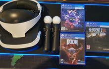 Playstation VR + Games + PS Camera + 2 Controllers