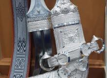 خنجر فضه عماني صياغه ثقيله